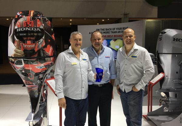 HONDA MARINE AUSTRALIAN DEALER OF THE YEAR